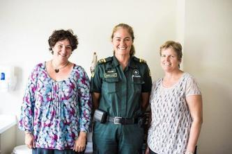 Some Patients At A Rural Gisborne Medical Centre Hesitate When They See St John Intensive Care Paramedic Jackie Clapperton In Her Distinctive Dark Green